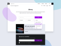 CXE Library (listing page template)