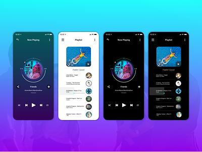 Music Player #DailyUI #009 009 dailyui music energetic app design ui ux