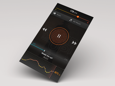 Music player for sport lovers