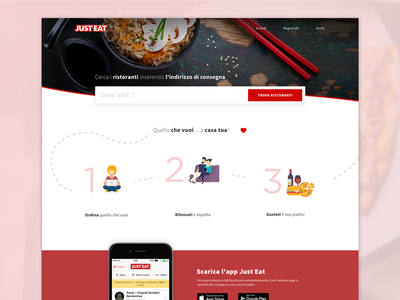 Just Eat Restyle - Home page
