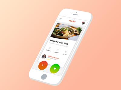 """Fooder - A """"Tinder app"""" for recipes"""