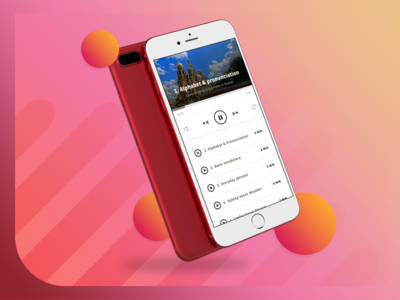 Audio Player for Language Learning