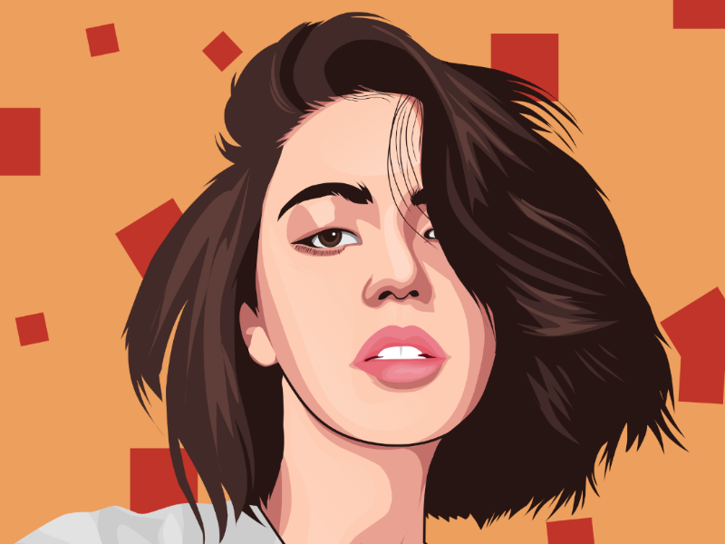Vector portrait vector art draw portrait