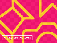 77 Essential Icons Pattern