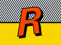R is for Roy Lichtenstein — 36 Days Of Type