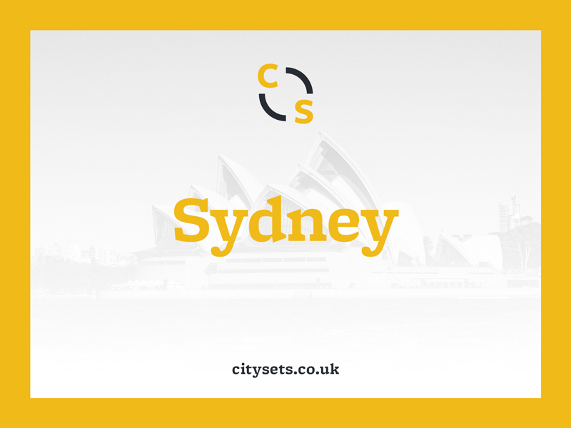 Citysets — Sydney sydney free icons freebie icon set brand side project bryn taylor citysets cities travel