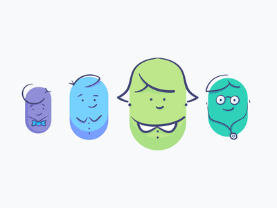 """Blog post — """"Lessons learnt: hiring for product design"""" ✍️ blog startup blood testing design process read team illustration blog post process hiring thriva writing"""