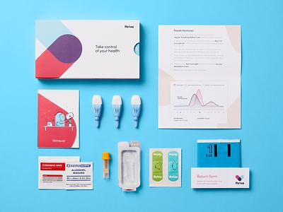 Two new female-focused tests 💃 blood test kit femtech startup health menopause hormones female hormones female blood blood test thriva