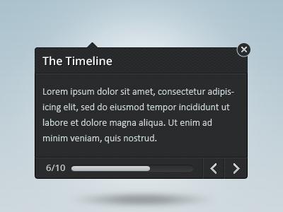 Tooltip tooltip interface progress