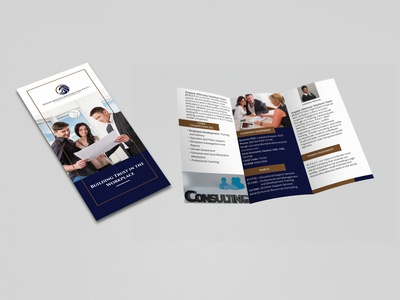 Consulting Tri-fold Brochure