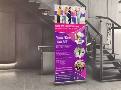 Dance Rollup Banner