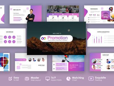 Website Service Planning Marketing Presentation Template