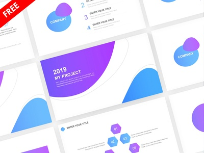 Colorful Business Plan Presentation Template