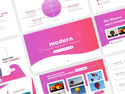 Creative and Modern Business Template