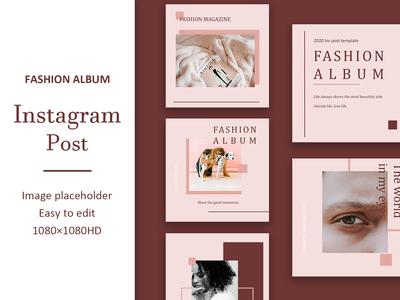 Fashion Album Instagram Post