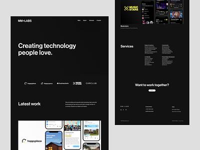 MMPLUS Studio Website studio website user experience user interface