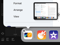 iPad Main Menu – Interaction Detail – Icon Switch ipados ipad app icons ui design private sketch.app apple redesign
