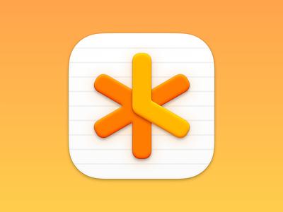 NotePlan macOS App Icon macos logo app icon mac icon macos icon icon sketch.app