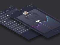 Rate Me iOS App Design (Concept & WIP)