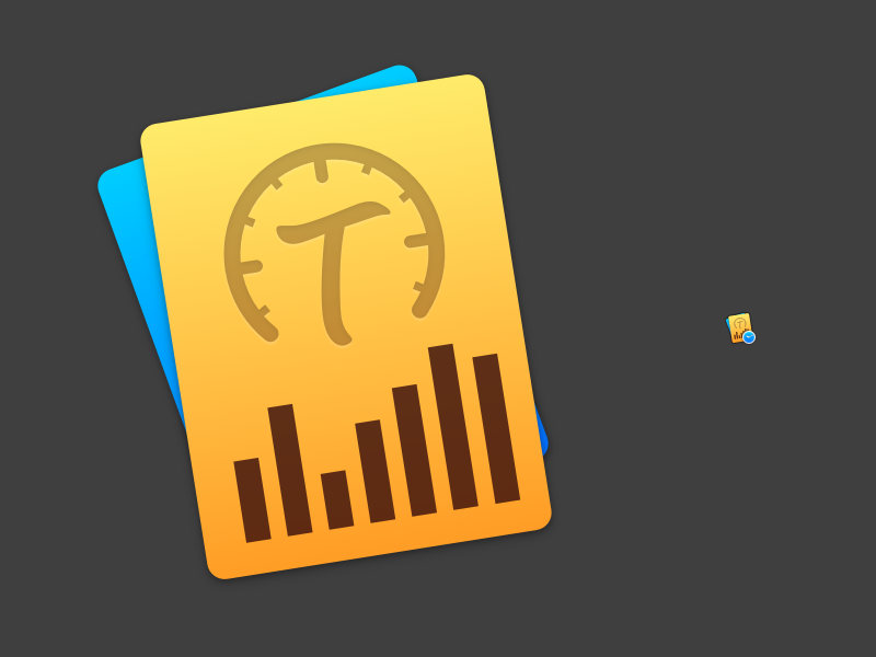 Timing 2 Mac App Icon (time tracking app) apple mac icon sketch.app work