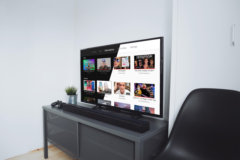 Youtube apple tv redesign
