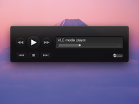 VLC Theme - Black Hornet (uncompleted)