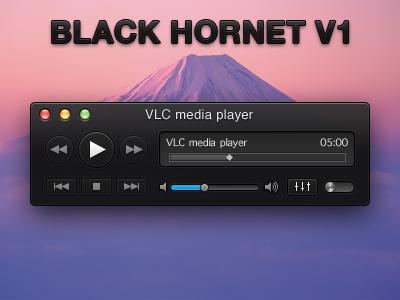 7 vlc theme black hornet