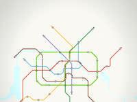 Metro berlin poster