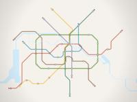 Mini Metro Berlin (Poster)