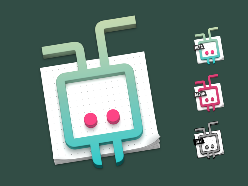 Diagrams for macOS App Icon blender macos mac icon logo icon work