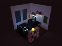Voxel Room