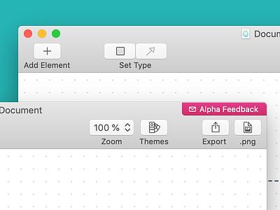 Diagrams App - macOS Toolbar Icons toolbar toolbar icons mac ui icon work sketch.app