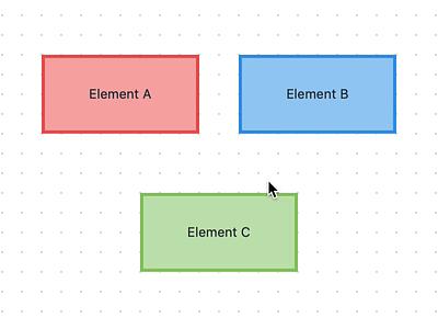 Diagrams App – Canvas Interaction (Drawing Diagram) animation interaction design interaction diagrams macos work