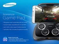 Samsung Game Pad Packaging - Back