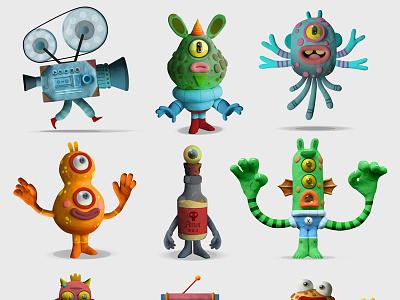 character design plasticinema 3d clay plasticine character design characterdesign illustrator illustration art illustration illustrateur