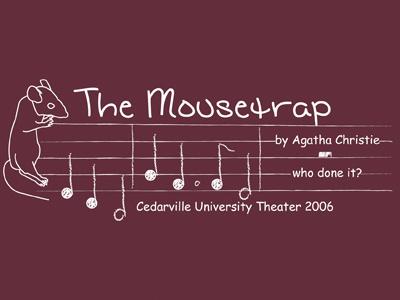Mouse Trap mousetrap t-shirt first design