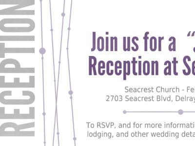 Invites purple wedding invitations