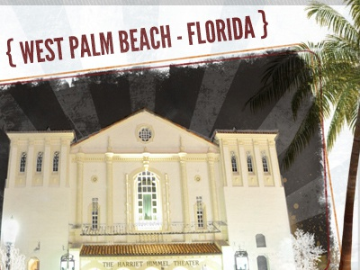 { West Palm Beach - Florida } florida rays home harriet himmel palm trees