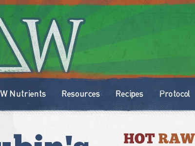 Hot Raw texture green blue orange microsite rough predefined colors