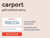 carport.io – park without worry