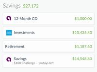 Savings Accounts on SaveUp