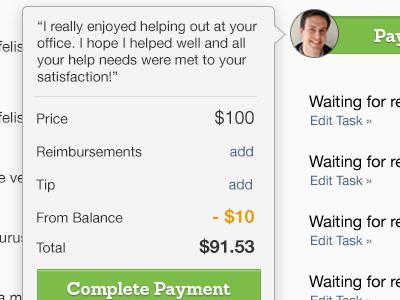 Payment payment web receipt