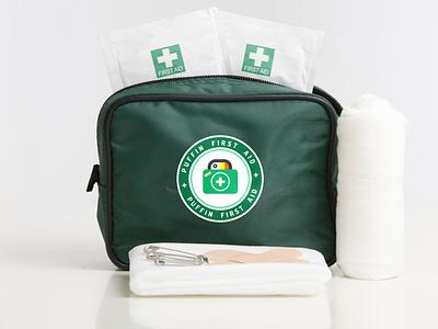 Puffin First Aid - Branding logo vector branding brand design design