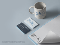 BSUIR ECS design logo