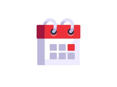 Calendar calendar daily icon illustration vector design flat