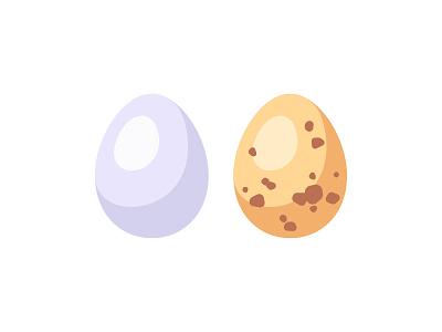 Eggs egg daily icon illustration vector flat design