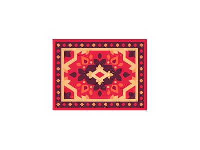 Carpet carpet daily icon illustration vector design flat