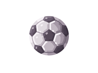 Football championsip world cup fifa ball icon soccer football illustration vector design flat