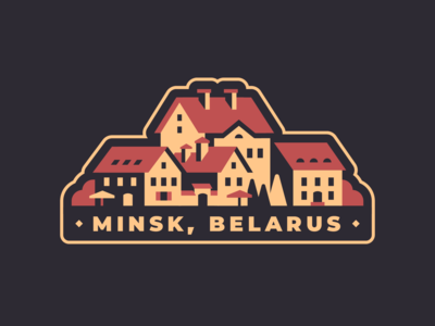 Minsk - Hometown sticker