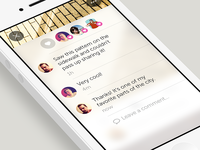 Fleck comment view redesign